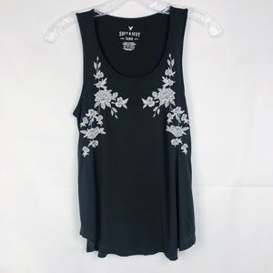 3/30 American Eagle | Soft & Sexy Embroidered Tank